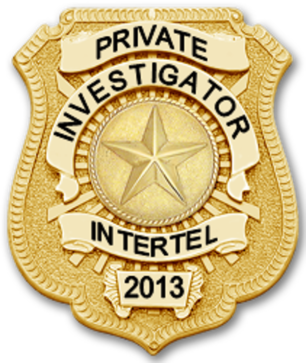 private detective badge