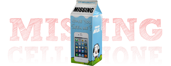 Milk Carton Missing Picture