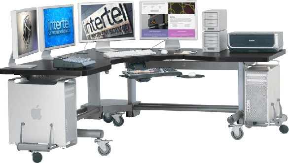 video forensic processing station at Intertel